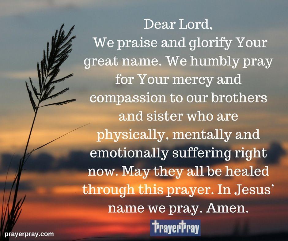 Prayer For The Sick Prayers, Bible prayers