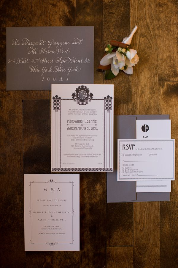 Classic Jewish Wedding by Erin Johnson Photography