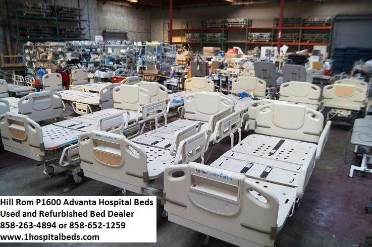 30 Hill Rom P1600 Advanta Hospital Beds Full Electric Adjustable Package Deal Hospital Bed New Hospital Hospital
