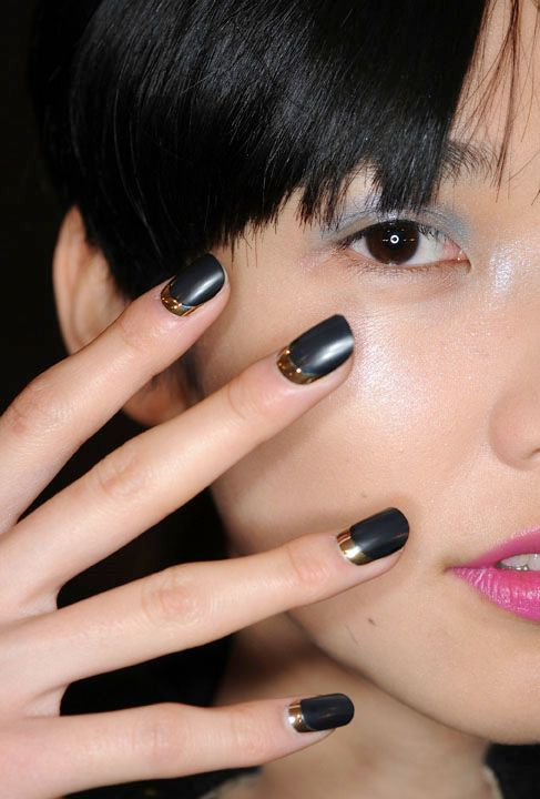 Get The Look – The CND Ruffian Matte Moon Manicure   All Lacquered Up