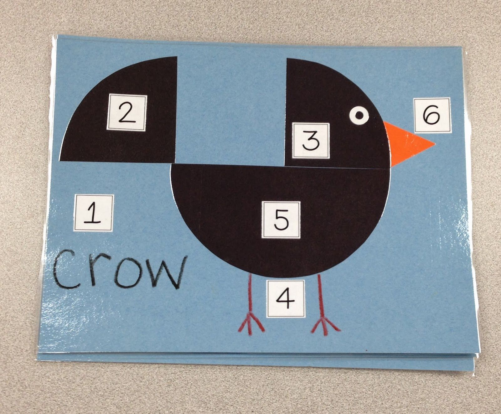 A Spoonful Of Learning Scarecrows Ke A Crow Instructions