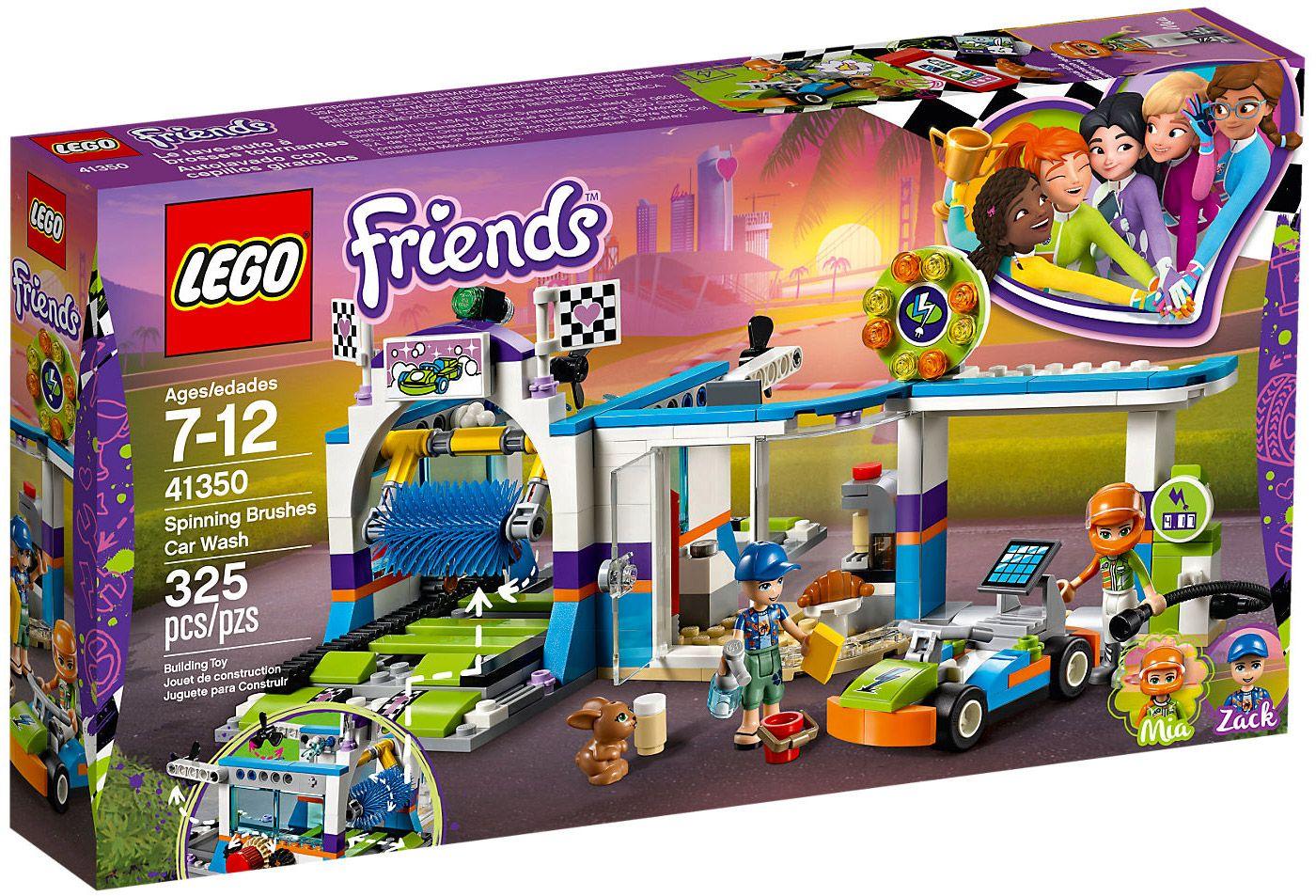 lego friends 41350 pas cher la station de lavage auto lego pinterest lego friends lego. Black Bedroom Furniture Sets. Home Design Ideas