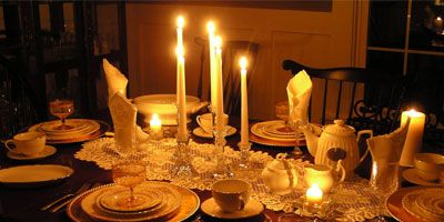 Image result for candlelight dinner