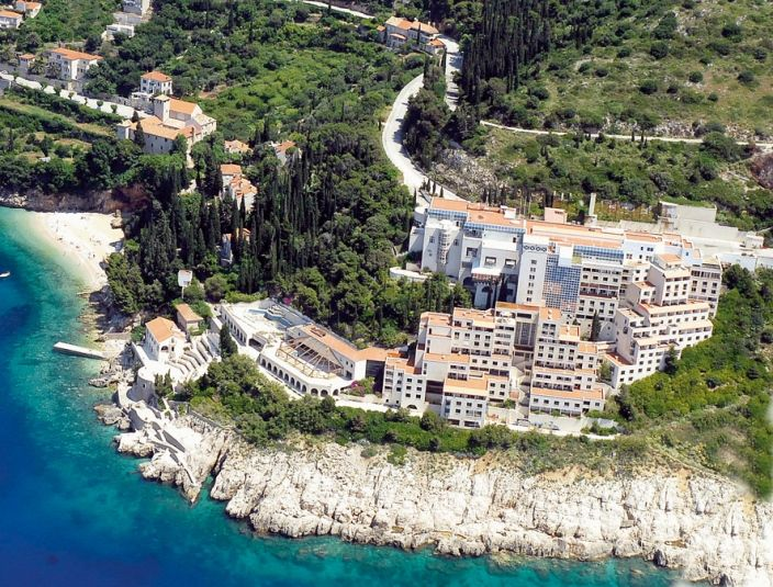 The Abandoned Hotel Belvedere Was One Of Best Hotels In Dubrovnik It