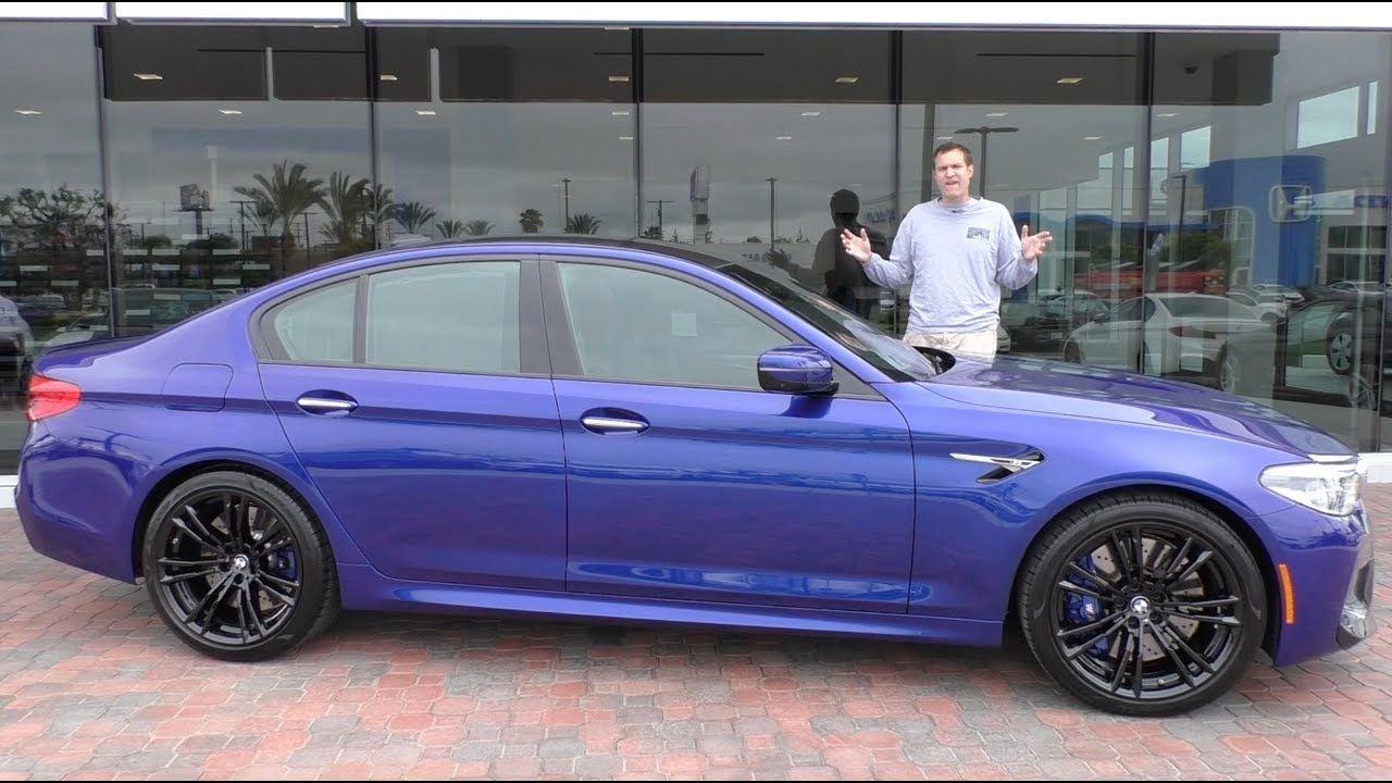 The 2018 Bmw M5 Is A 120 000 Super Sedan Wysluxury Bmw Bmw M5