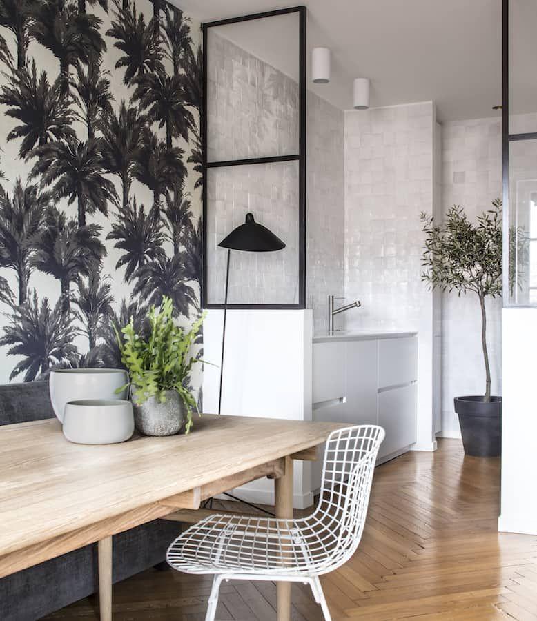 une r novation par maison hand dans le vieux lyon visites priv es pinterest papier peint. Black Bedroom Furniture Sets. Home Design Ideas