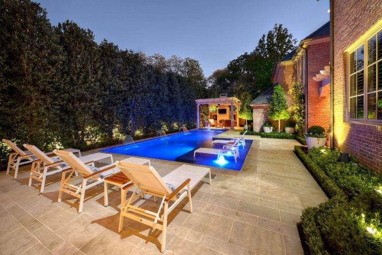 Aménagement piscine de jardin- idées et photos inspirantes - amenagement jardin avec spa