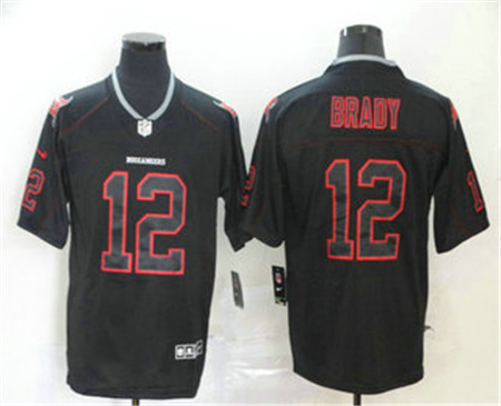 2020 Tampa Bay Buccaneers 12 Tom Brady 2020 Black Lights Out Color Rush Stitched Nfl Nike Limited J In 2020 Tampa Bay Buccaneers Tom Brady Color Rush