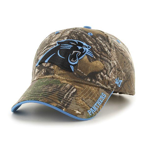 5552bb179 Carolina Panthers Realtree Frost Realtree 47 Brand Adjustable Hat ...
