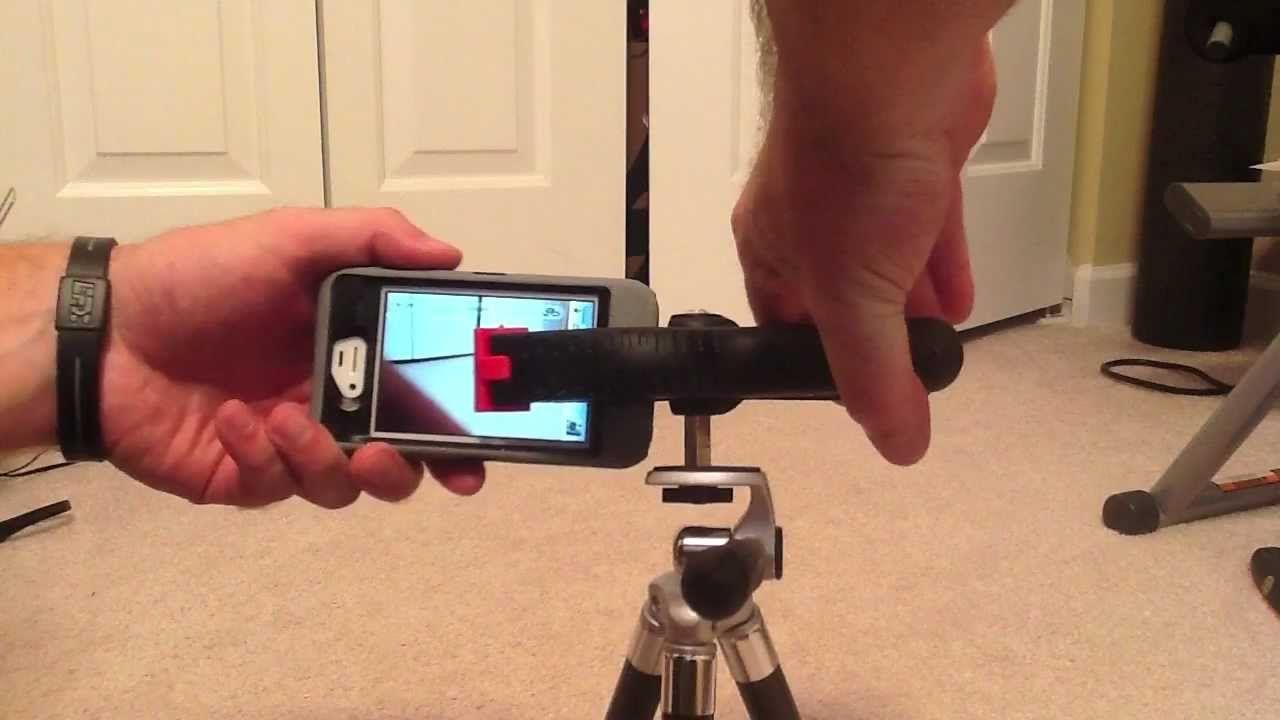 DIY iPhone or iPod Tripod Mount Under $5