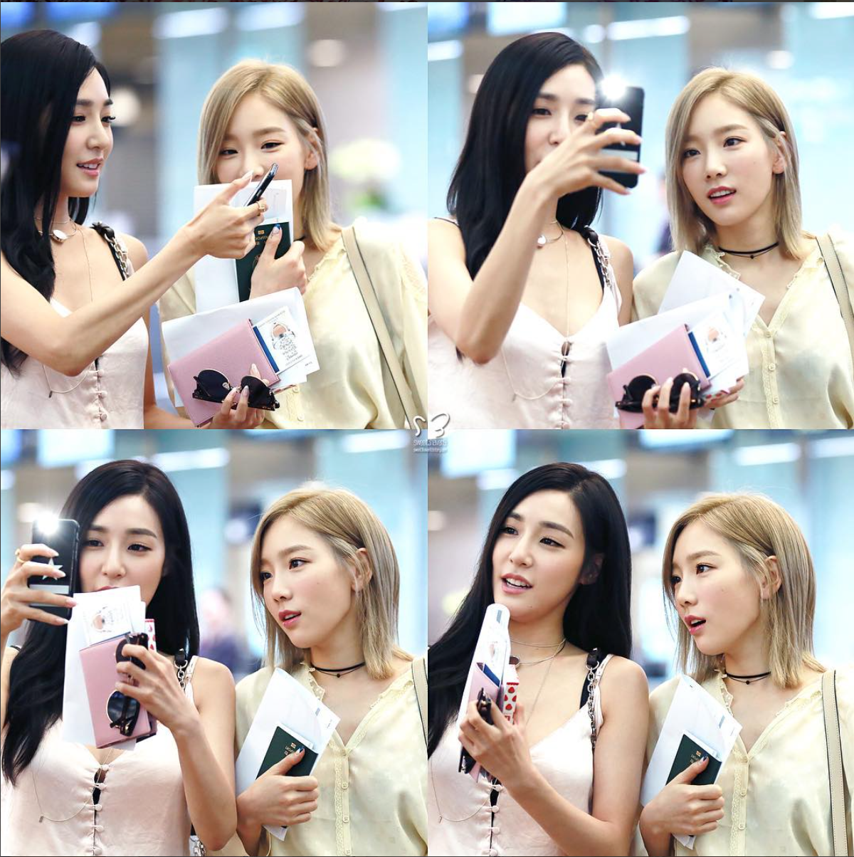 TaeNy in the airport