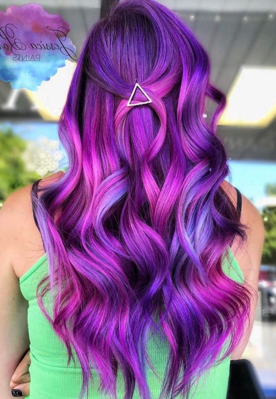 50 Trendy Color Hairstyles Combinations Hair Styles Vivid Hair Color Pretty Hairstyles