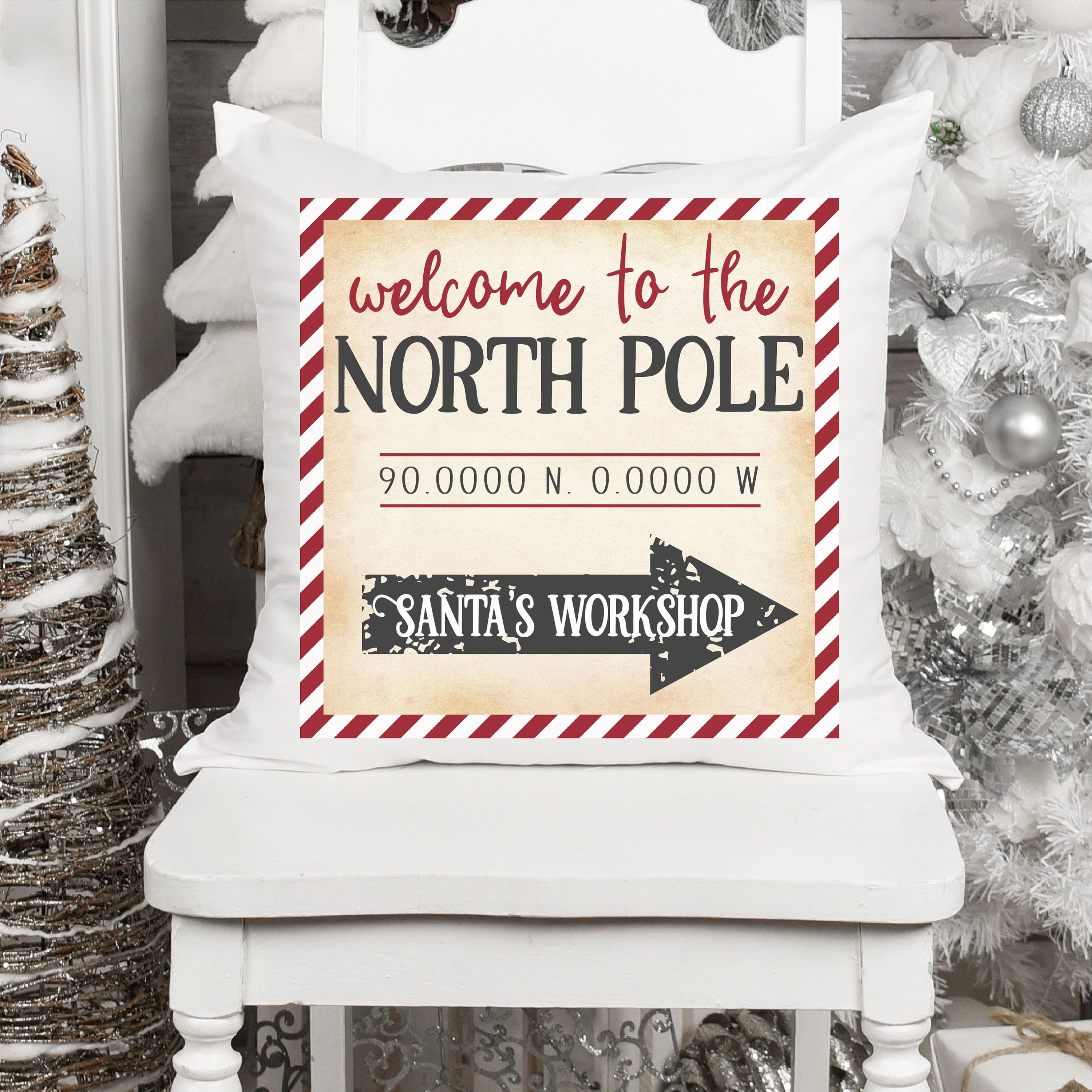 Welcome To The North Pole Png Sublimation Design Sublimation Design Download Dtg Printing Christmas Crafts Christmas Png Christmas Crafts Crafts Very Merry Christmas
