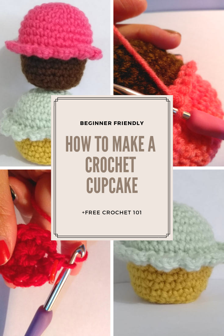 Amigurumi: Cute Cupcake printable pattern | Crochet ...