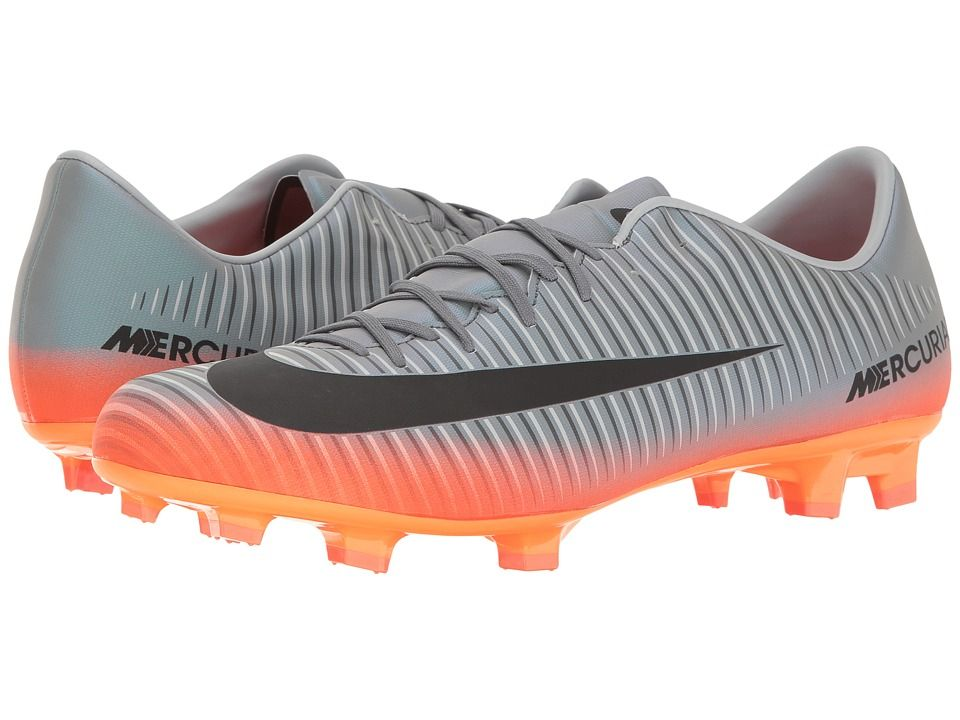 e13c6c61aa5c NIKE NIKE - MERCURIAL VICTORY VI CR7 FG (COOL GREY METALLIC HEMATITE WOLF  GREY) MEN S SOCCER SHOES.  nike  shoes