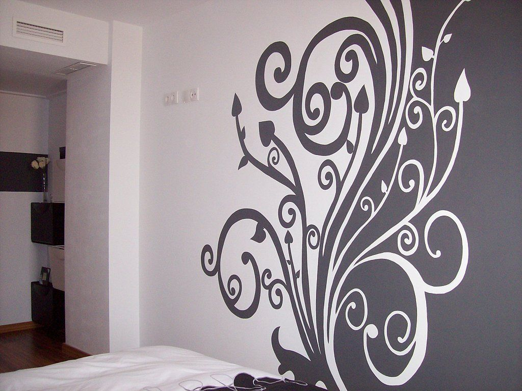 Pared pintada ideas para el hogar pinterest pienso - Pintura decoracion paredes ...