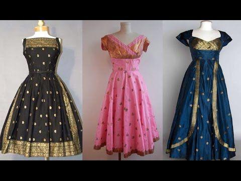 9e48d6b66e Convert Old Saree Into Long Gown Dress