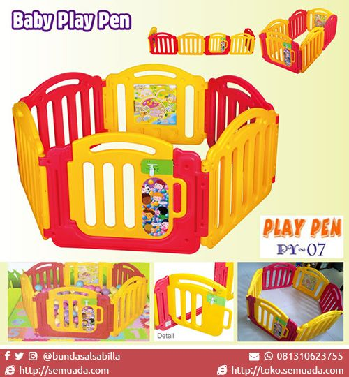 JUAL MURAH PAGAR MAIN BAYI PLAY PEN (PY-07) | TOKO SEMUADA | BUNDA SALSABILA | #bayi #anak #baby #babyshop #newborn #Indonesia #gendongan #carriers #jakarta #bouncer #stroller #playmat #potty #reseller #dropship #promo #breastpump #asi #walker #mainan #olshop #onlineshop #onlinebabyshop #murah #anakku #batita #balita #branded #sale