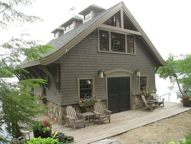 image result for lodge style homes exterior color on lake house color schemes id=88397