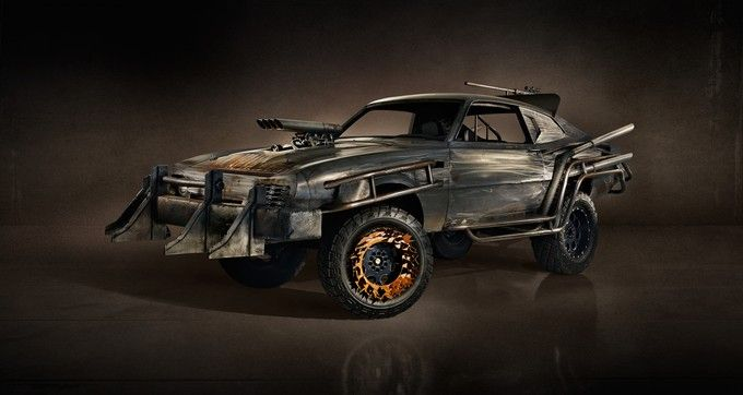 MAD MAX car from the upcoming game Magnum Opus madmax