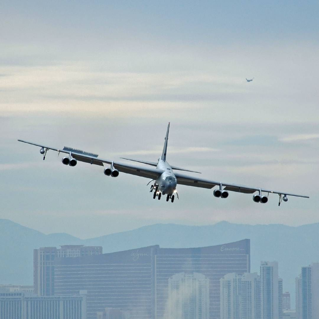 Boeing b52h stratofortress usaf aircraft military