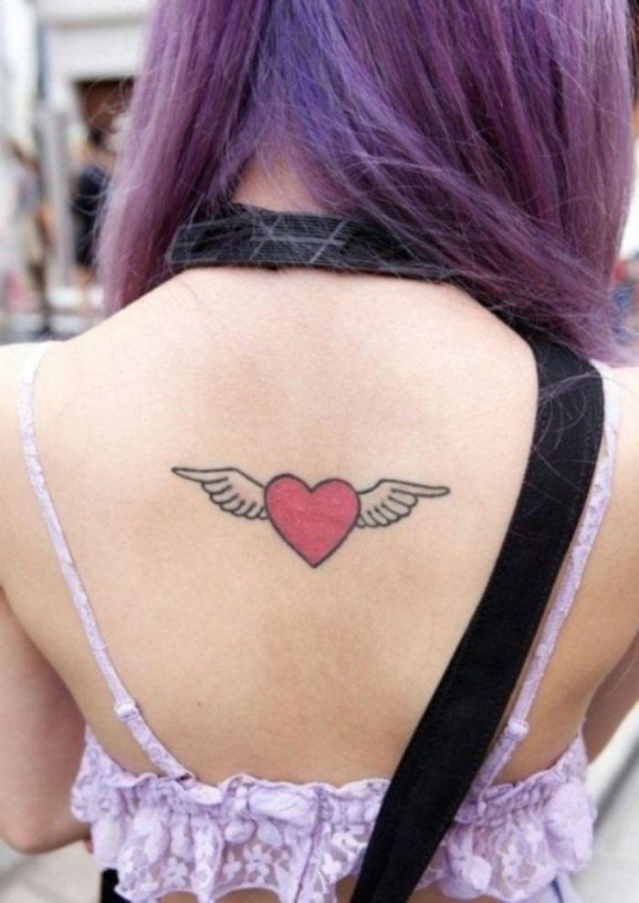 1001 Ideas De Disenos De Tatuajes De Corazones Tatuaje Corazon Con Alas Tatuaje Corazon Disenos De Tatuajes De Corazon