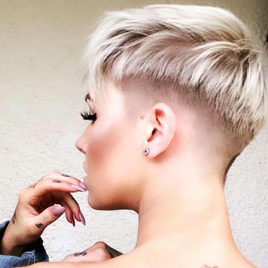 Short hairstyle u short blonde haircut pinterest
