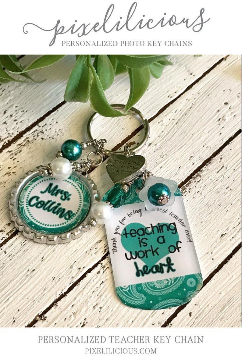 Personalized Gift Teacher Key Chain Teacher