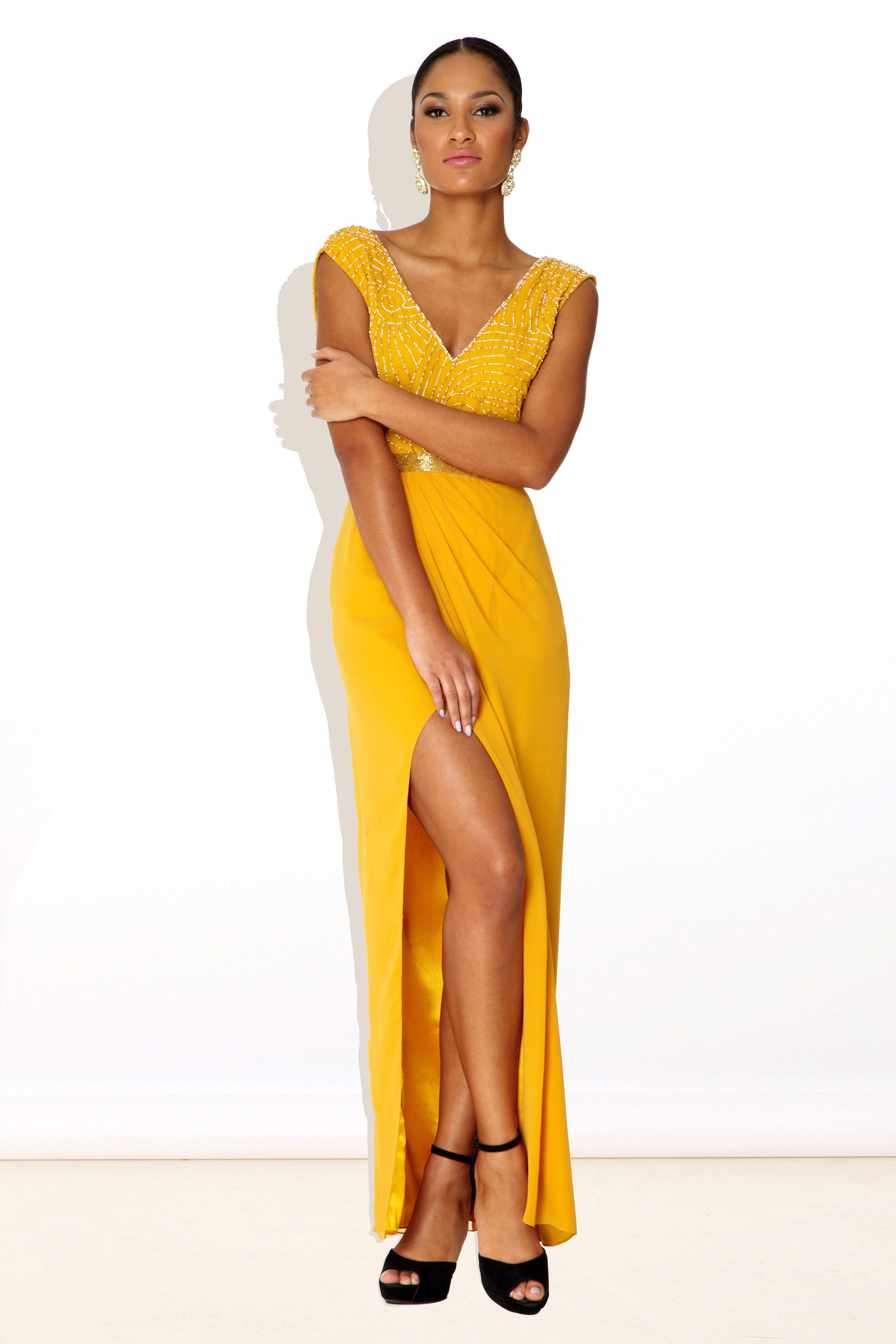 Virgos lounge lana yellow dress