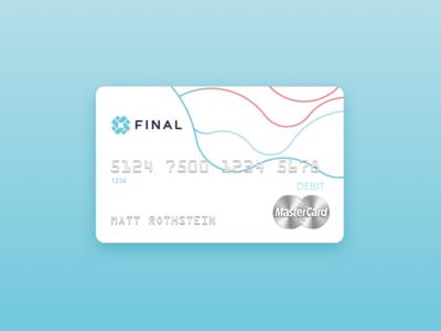 Final Debit Card Debit Card Design Prepaid Debit Cards Card Design