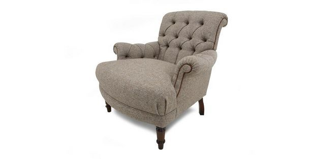 Kintyre Accent Chair Harris Tweed Dfs Ireland Country Style