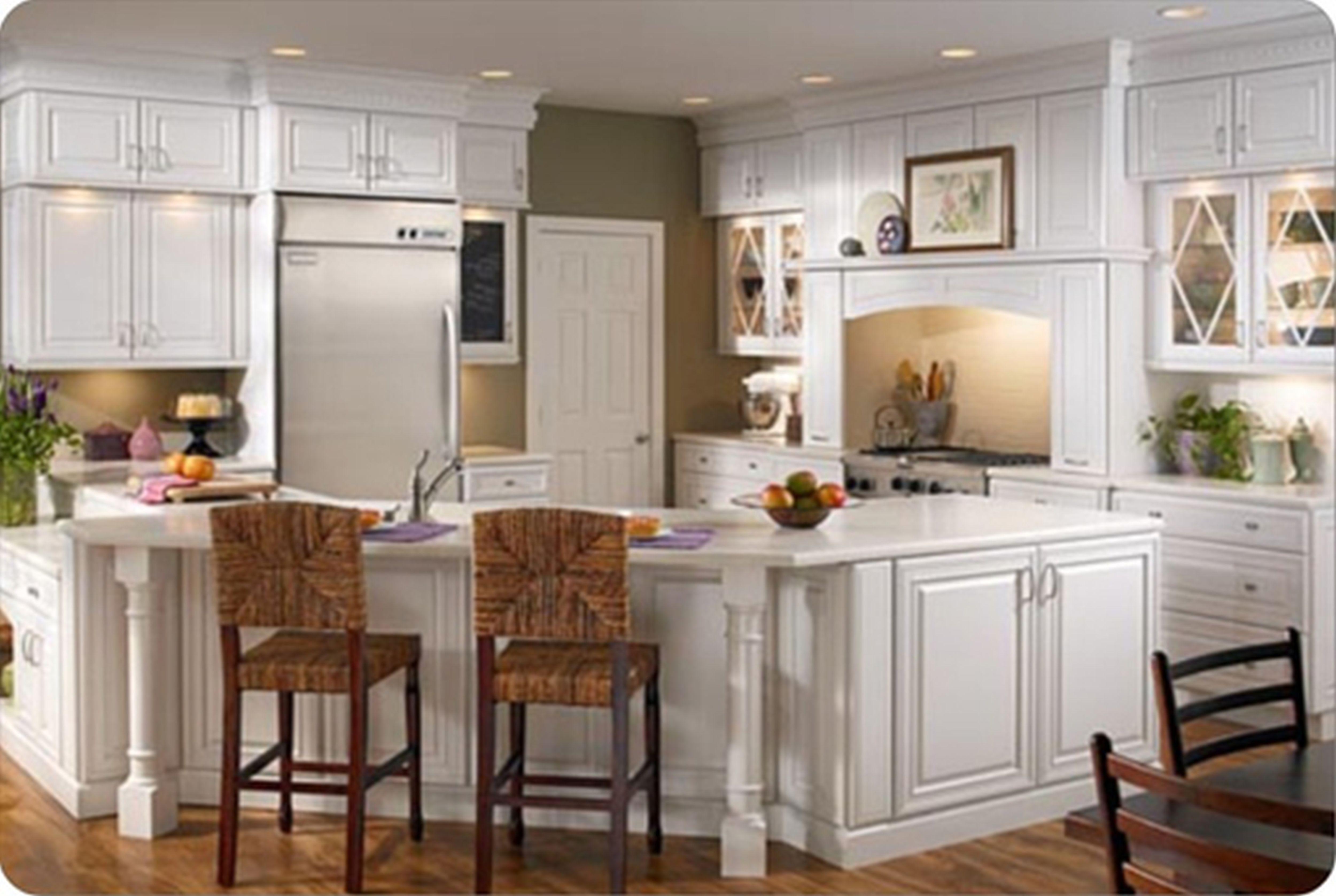 Küche Farben Mit Weißen Schränke, 2020 Mutfak