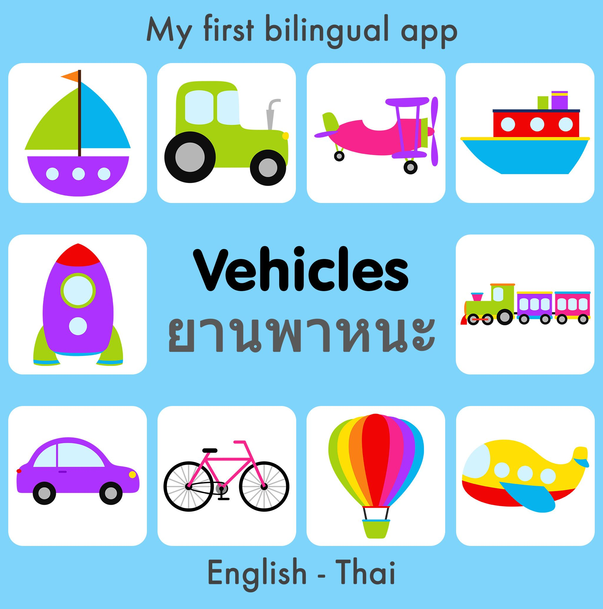 Cognitobaby Presents My First Bilingual Words