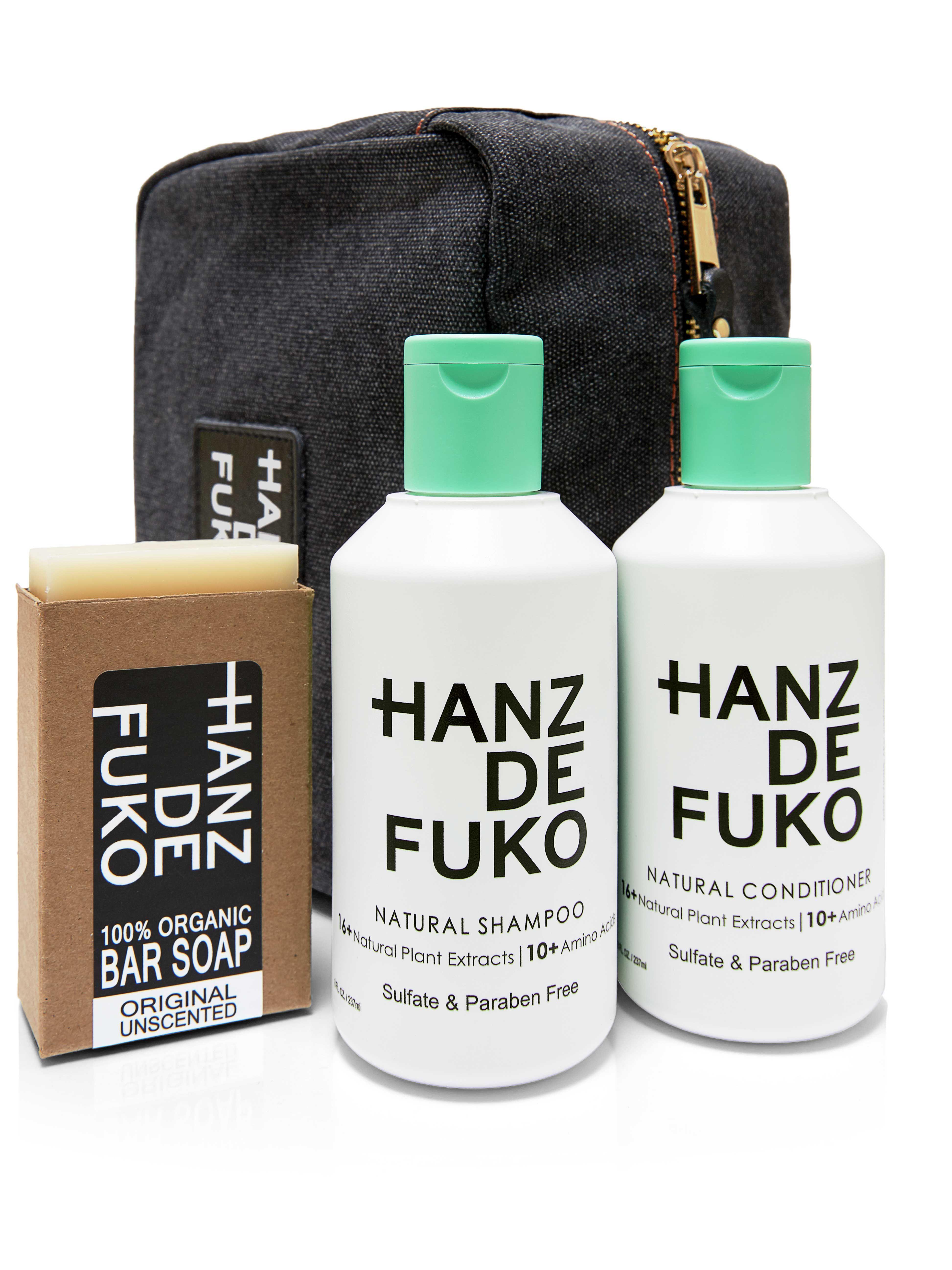 deluxe travel kit hanz de fuko