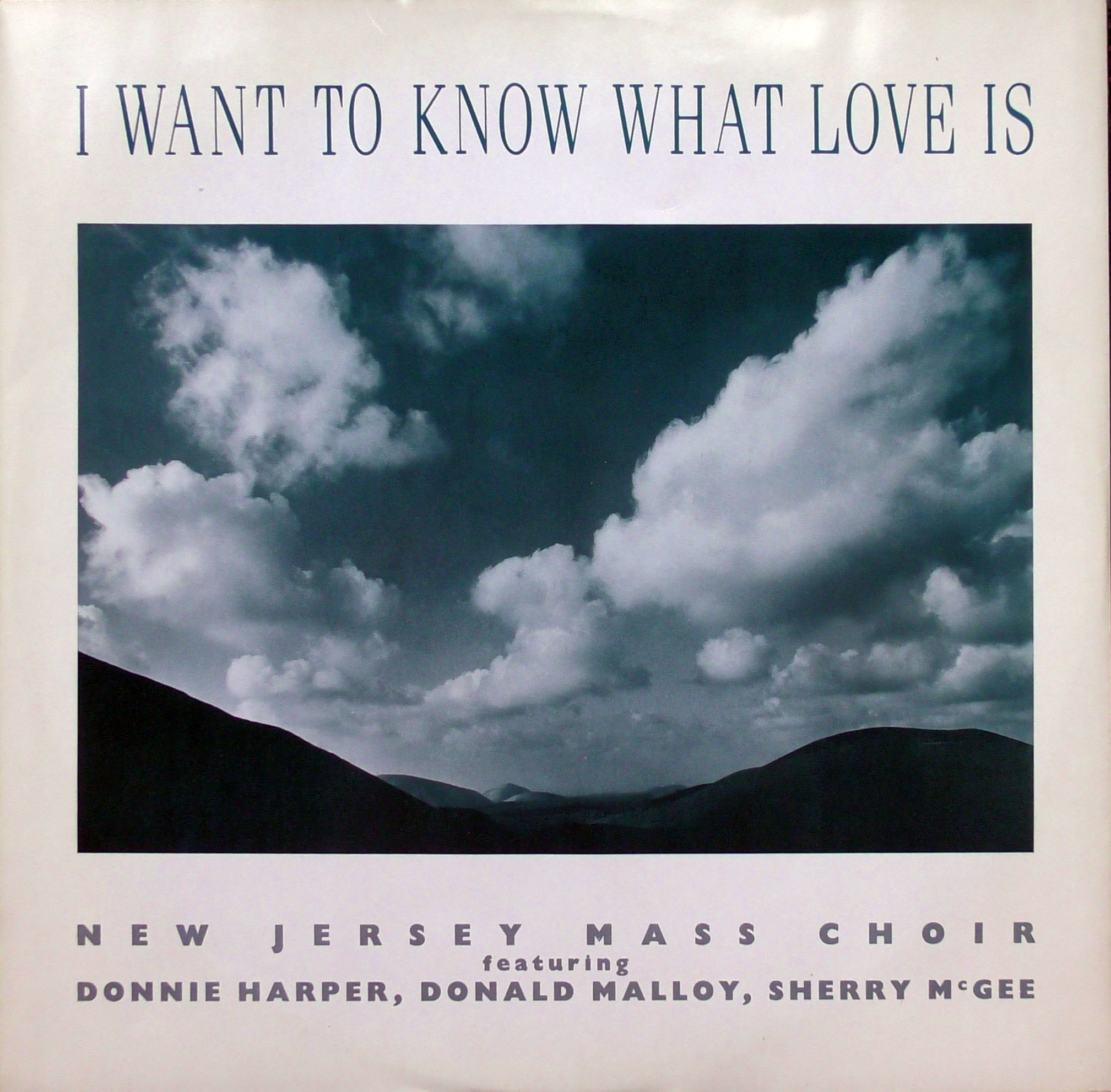 The New Jersey Mass Choir I Want To Know What Love Is Prelude Records Mhst 103 Vinyl 12 45 Rpm Single Plyty Winylowe Rpm