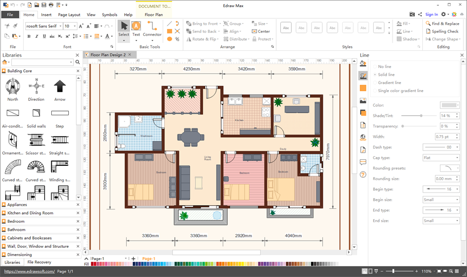 Best Of Free Software To Layout Floor Plans And View In 2020 Free Floor Plans Floor Plan Drawing Plan Maker