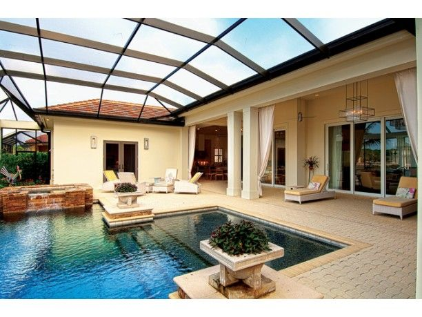 Covered Pool For The Dream Home Pinterest Covered