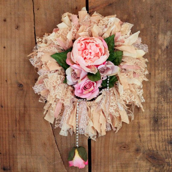 Shabby Chic Romantic Lovely Tea Dyed Tattered by Kre8iveKrafts, $39.00