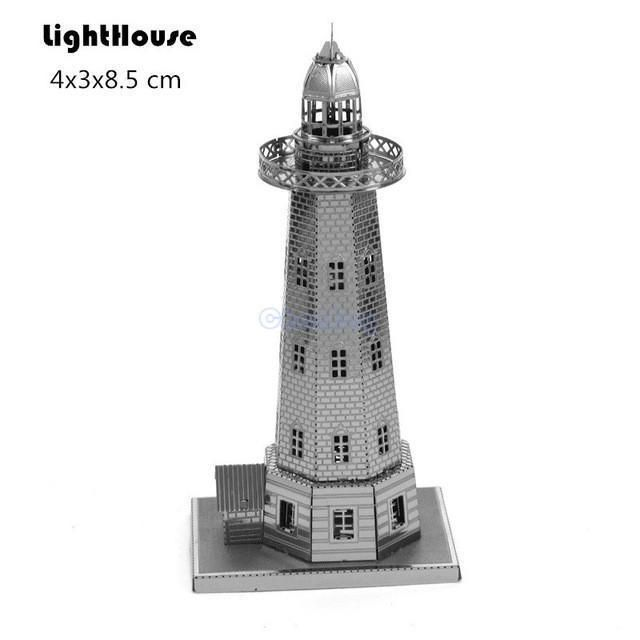 Fascinations Metal Earth Dutch Windmill 3D Miniature Landmark Structure Model