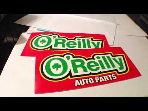 photo regarding Printable O'reilly Auto Parts Coupon identify Absolutely free Sticker #51 - OReilly Car Components - YouTube Guides