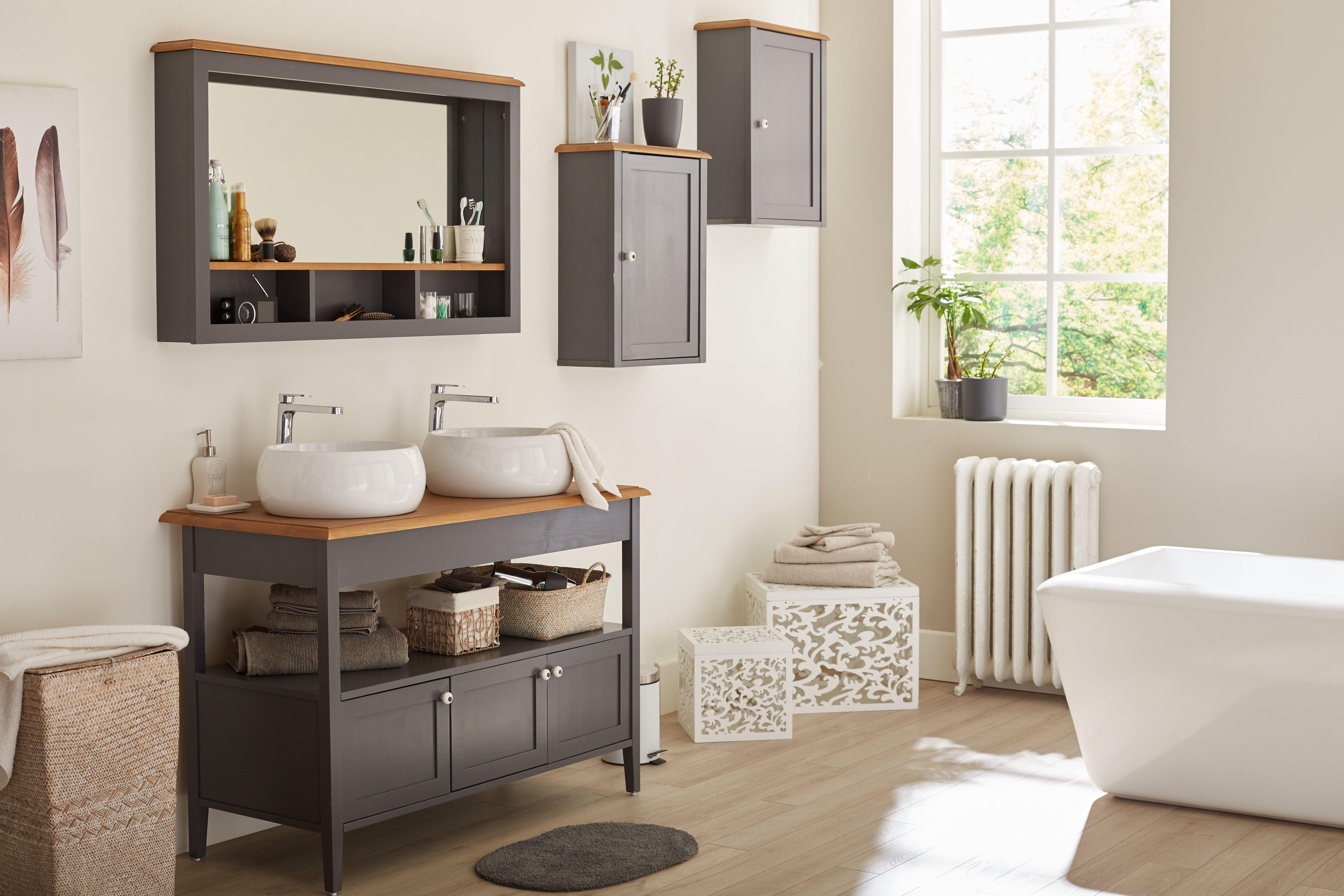 Kaolin Idee De Deco Pour Une Salle De Bain Alinea Home Decor