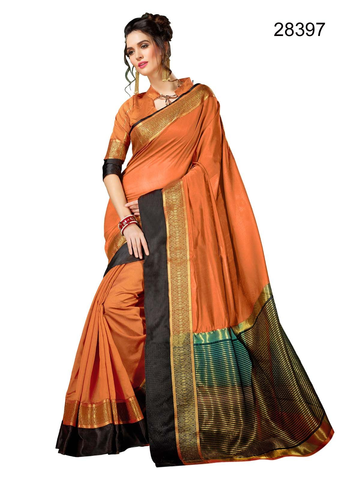 0714bdf6a5e 2618 Nilanjana Cotton Silk Daily Wear Sarees