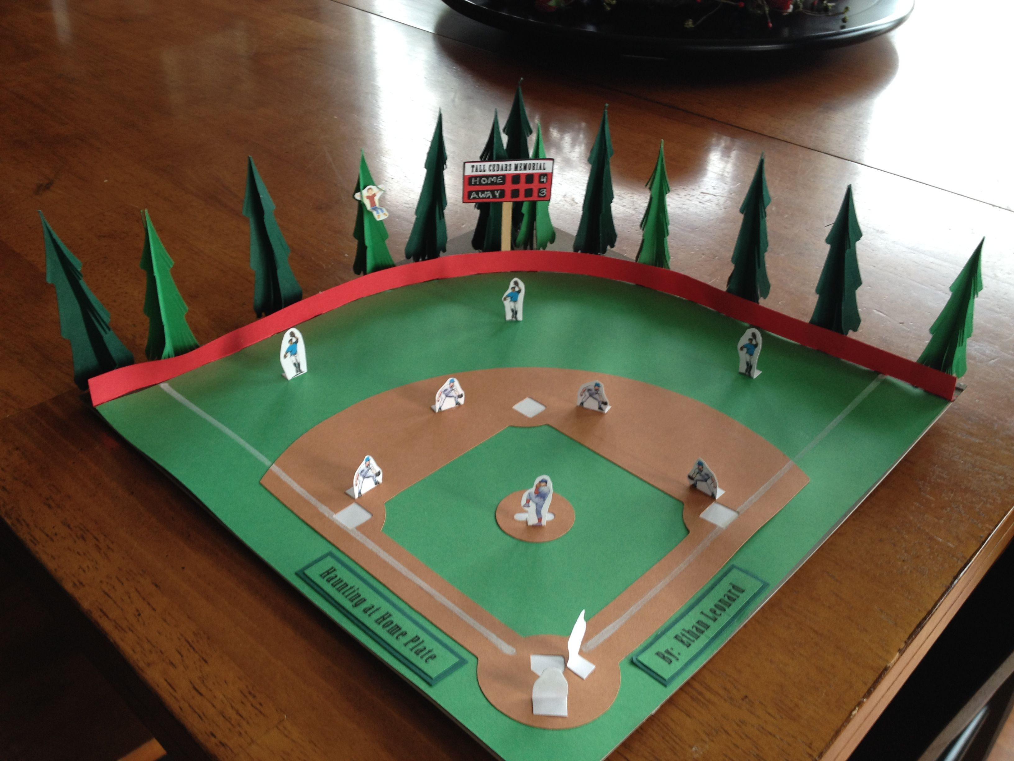 Baseball project for a book report.   Kids School Projects ...