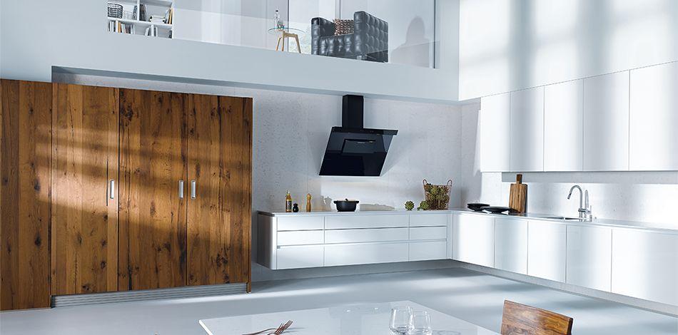 next125 - NX 501 Kristallweiß hochglanz kitchen Pinterest - schüller küchen erfahrungen