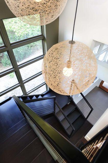 Stairwell Lighting 3 Of These Stairway Lighting Stair Lighting Large Pendant Lighting