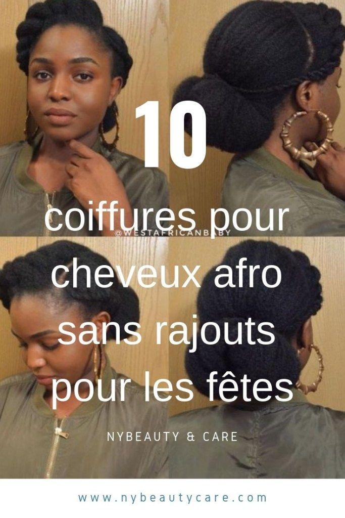 10 idées de coiffures afro pour les fêtes sans rajouts