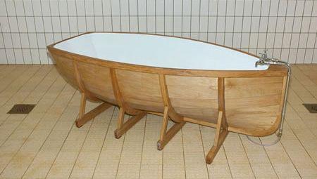 Charming Boat Bathtub Unique Boat Shaped Bathtub Made By Dutch Designer Wieki Somers. Awesome Ideas