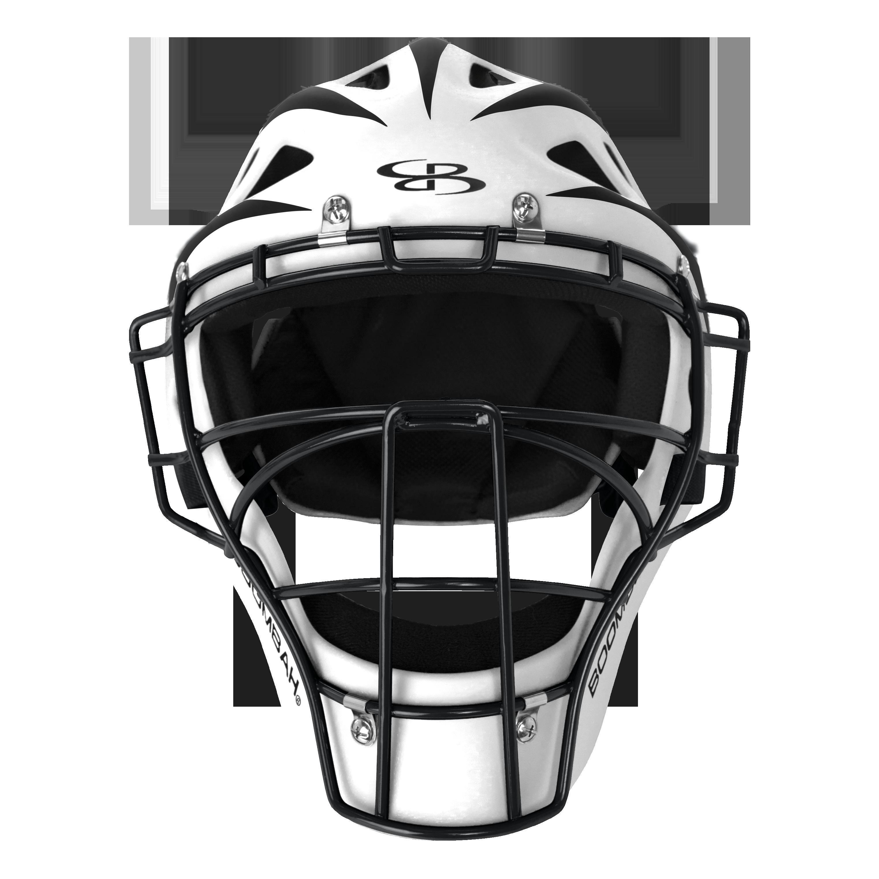 Defcon 2 0 Rubberized Matte Hockey Style Catchers Helmet Matte Out Boombah Boombahdiamondsports Boombahequipment Helmet Brands Helmet Batting Helmet