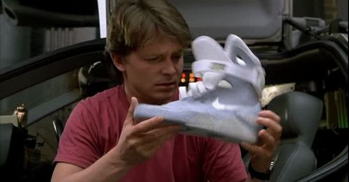 """Nike & """"Zurück in die Zukunft"""""""