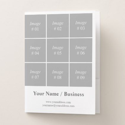 TwoSided  Calendar Template Pocket Folder  Create Your Own